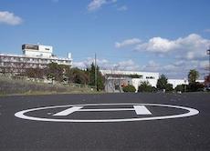 鹿児島本土のヘリポート